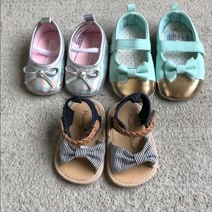 Other - 3 pairs of 3-6 month shoes
